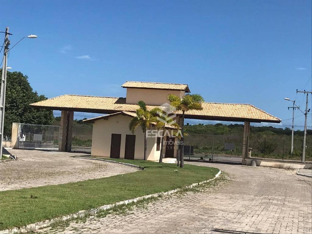 Lote à venda, 279 m², Vila do Porto, condomínio fechado, financia - Lagoa do Banana - Caucaia/CE