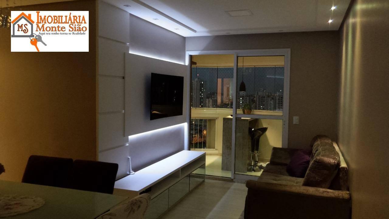 Apartamento com 3 dormitórios à venda, 82 m² por R$ 510.000,00 - Gopoúva - Guarulhos/SP