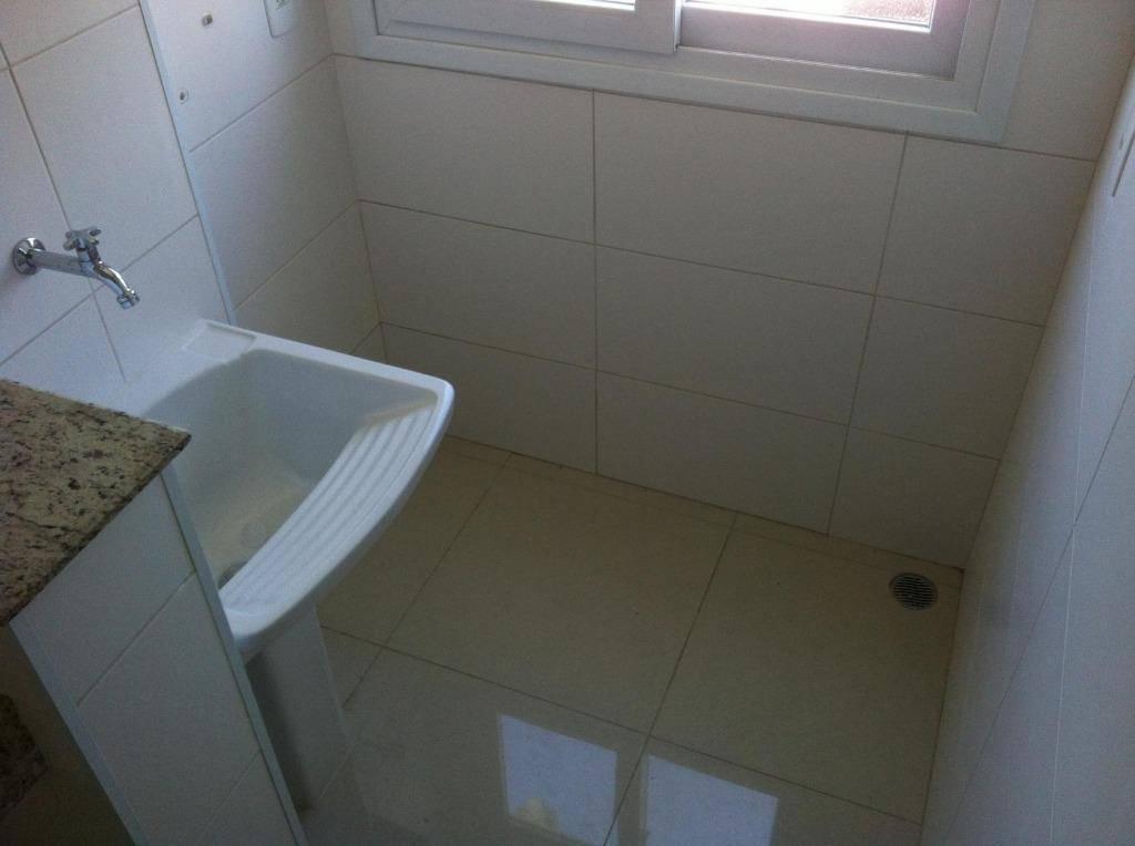 Apartamento residencial para venda e locação, 57  m², 2 dorm, 2 vagas, Bairro Jardim, Santo André.