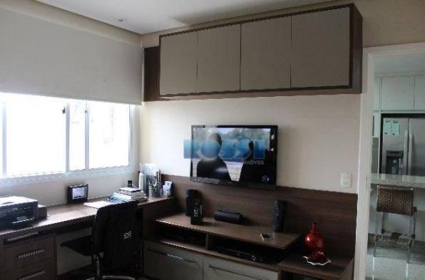 apartamento alto padrão contendo 3 dormitórios, sendo 3 suítes planejadas com closet e hidro, wc social,...