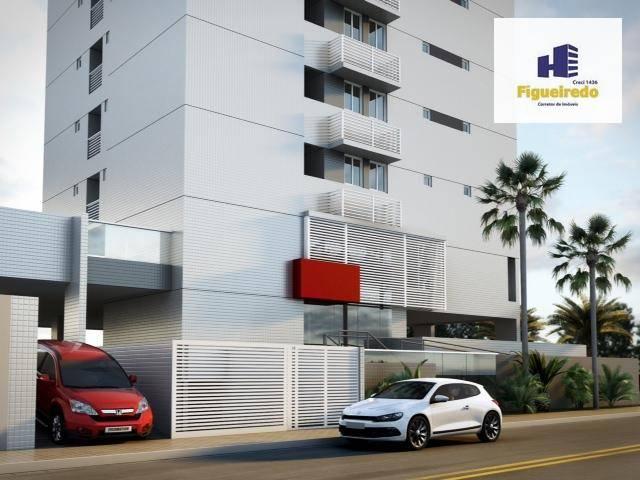 Apartamento com 2 dormitórios à venda, 58 m² por R$ 262.774,00 - Bessa - João Pessoa/PB