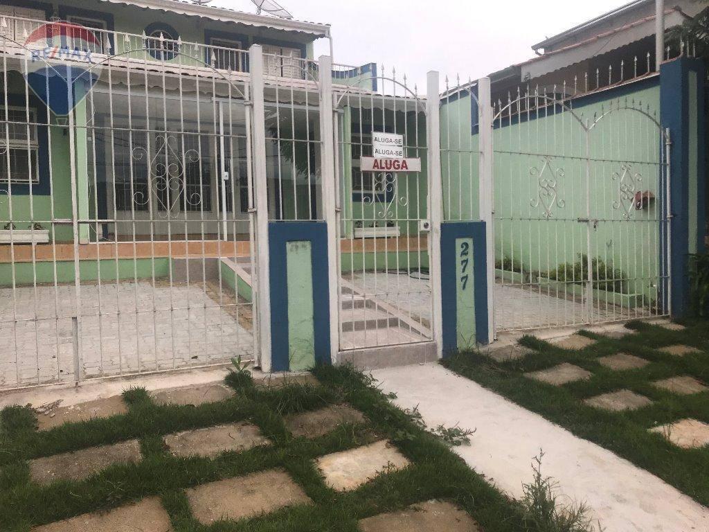 Casa com 3 dormitórios para alugar, 103 m² por R$ 2.000/mês - Jardim Floresta - Atibaia/SP