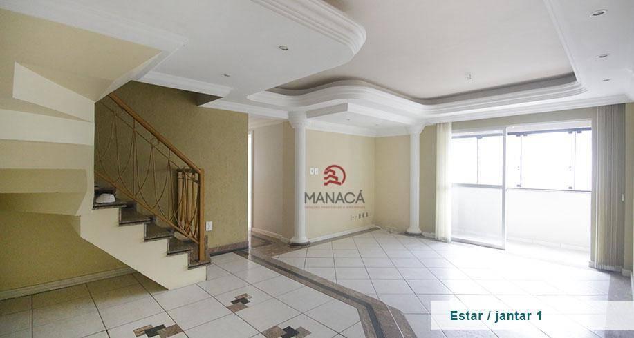 Apartamento com 3 dormitórios à venda, 193 m² por R$ 638.000 - Centro - Criciúma/SC