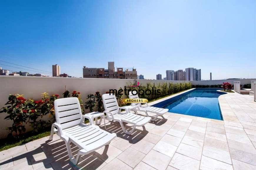 Apartamento com 2 dormitórios para alugar, 59 m² por R$ 1.400/mês - Campestre - Santo André/SP
