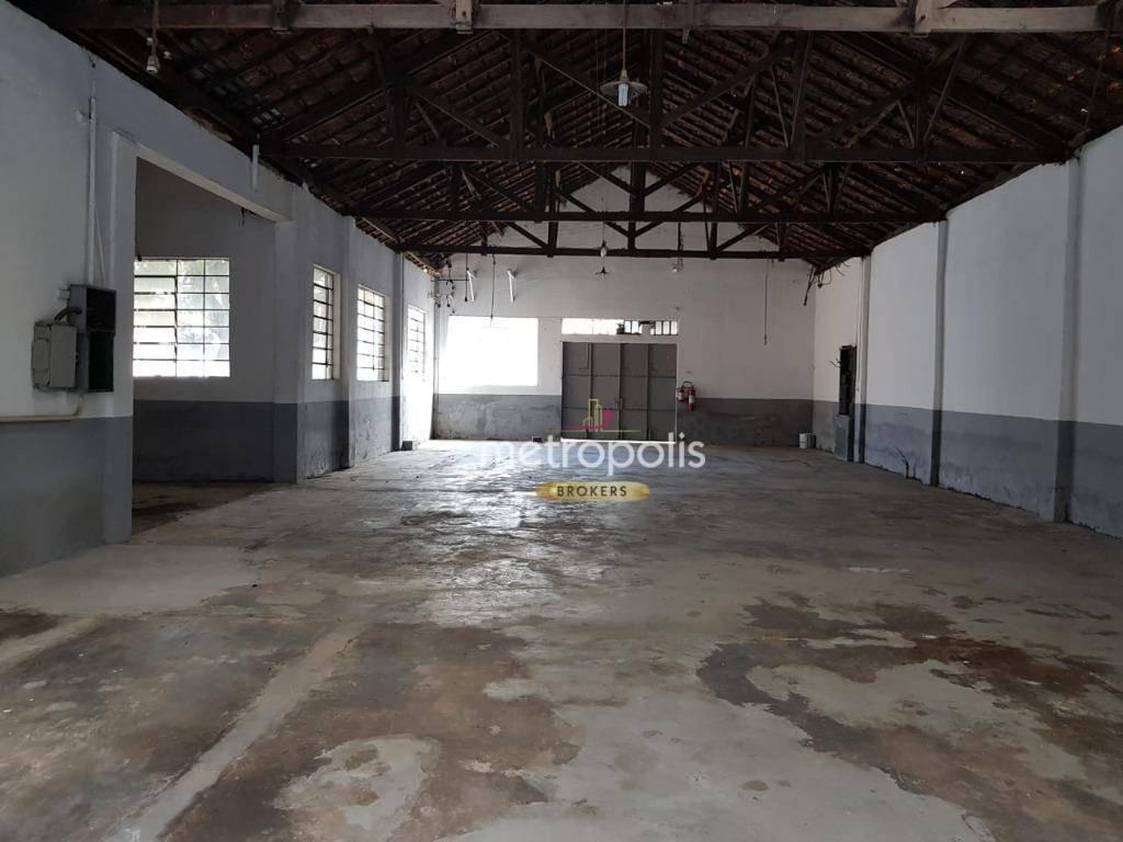Galpão para alugar, 1000 m² por R$ 8.000,00/mês - Centro - São Caetano do Sul/SP