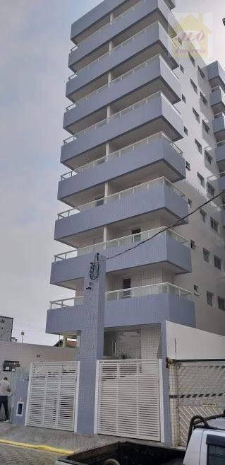 Apartamento com 1 dormitório à venda, 53 m² por R$ 190.000 - Vila Guilhermina - Praia Grande/SP