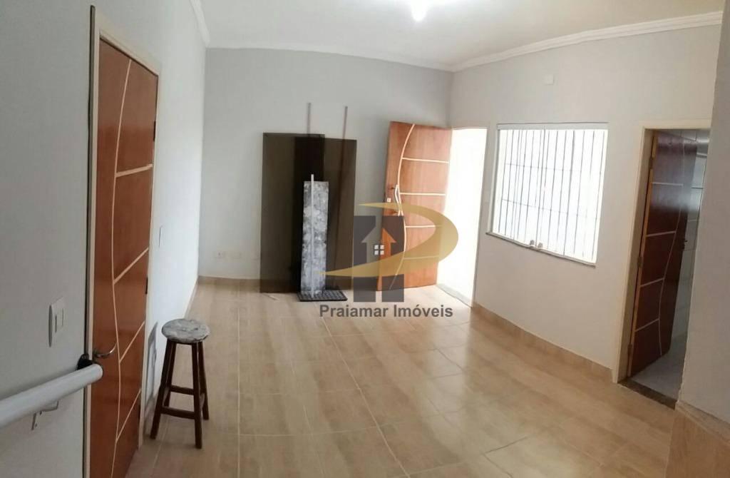 Sobrado à venda, 80 m² por R$ 280.000,00 - Vila Guilhermina - Praia Grande/SP