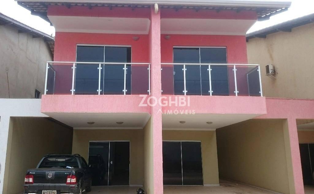 Sobrado residencial à venda, Escola de Polícia, Porto Velho.