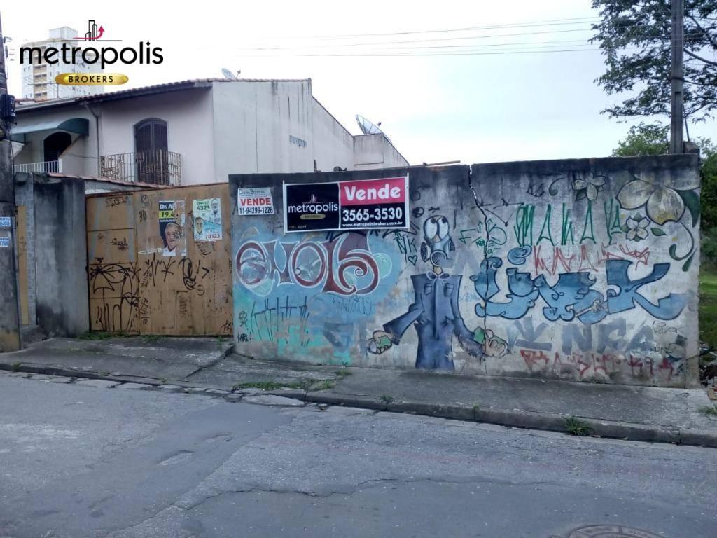Terreno à venda, 400 m² por R$ 500.000 - Vila Mazzei - Santo