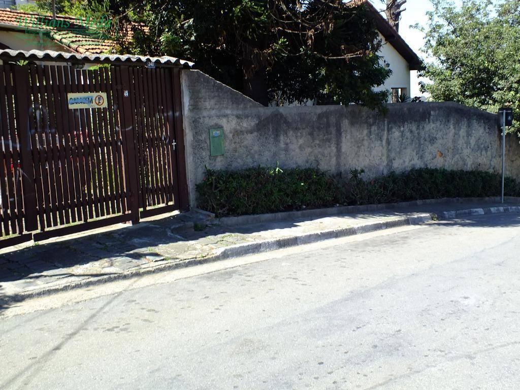 Terreno residencial à venda, Jardim Flor da Montanha, Guarulhos.