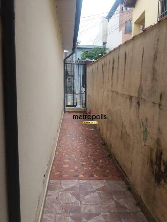 Casa com 2 dormitórios à venda, 102 m² por R$ 520.000 - Osvaldo Cruz - São Caetano do Sul/SP