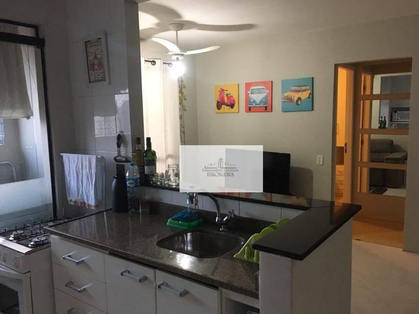 Apartamento a Venda Mobiliado na Vila Olímpia - 41m² - 1 Dormitório - 1 Vaga