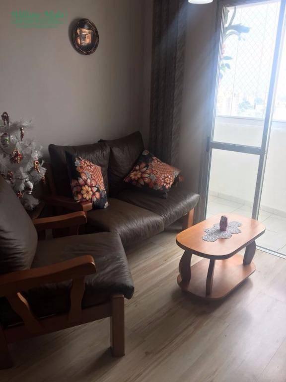 Apartamento residencial à venda, Vila Tijuco, Guarulhos.