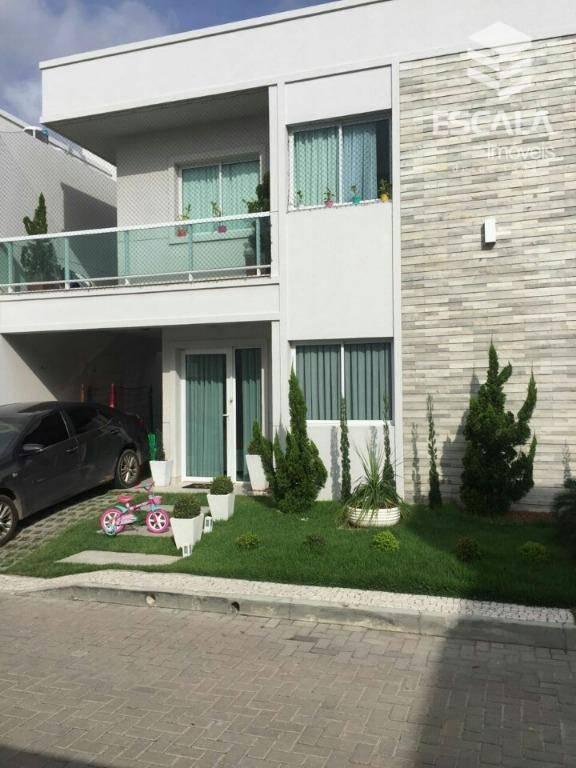 Casa com 3 quartos à venda, 135 m² , área de lazer, móveis projetados - Lagoa Redonda - Fortaleza/CE