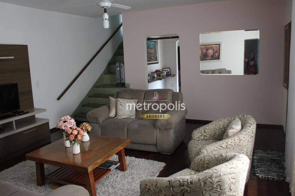 Sobrado com 3 dormitórios à venda, 187 m² por R$ 650.000,00 - Cerâmica - São Caetano do Sul/SP