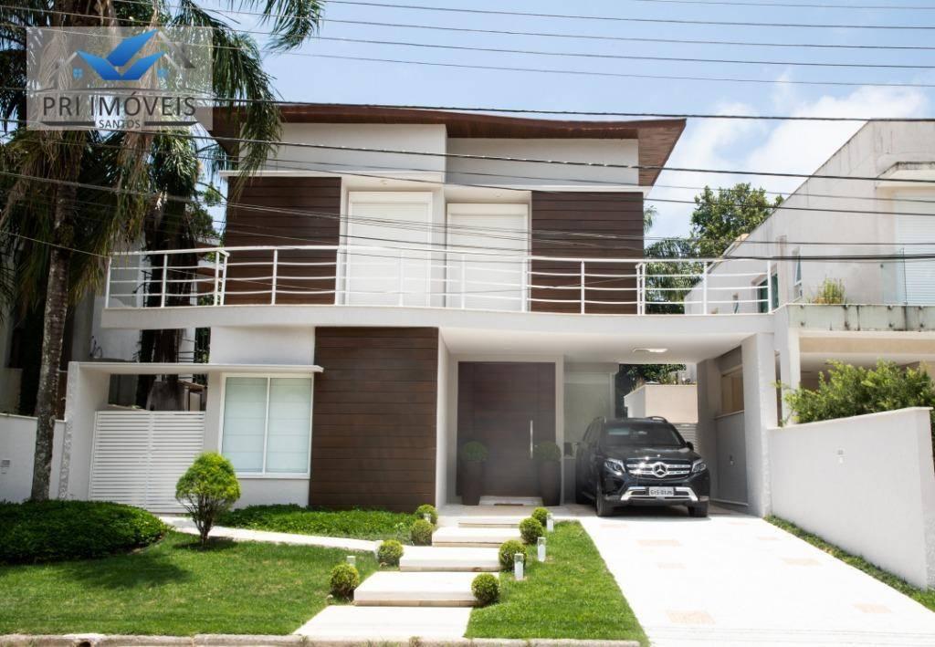 Casa com 5 suítes à venda, 400 m² por R$ 2.060.000 - Riviera de São Lourenço - Bertioga/SP