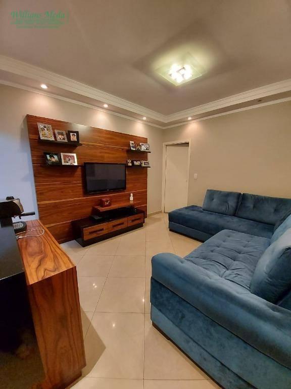Casa com 2 dormitórios à venda, 87 m² por R$ 465.000 - Jardim Monte Carmelo - Guarulhos/SP