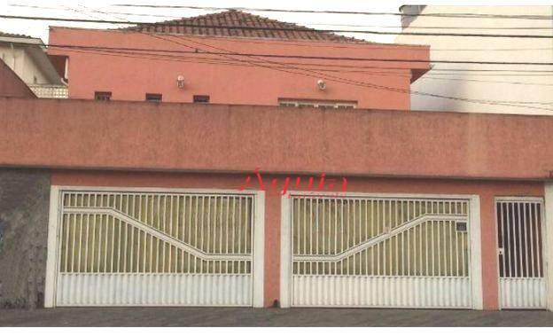 Casa residencial à venda, Utinga, Santo André.