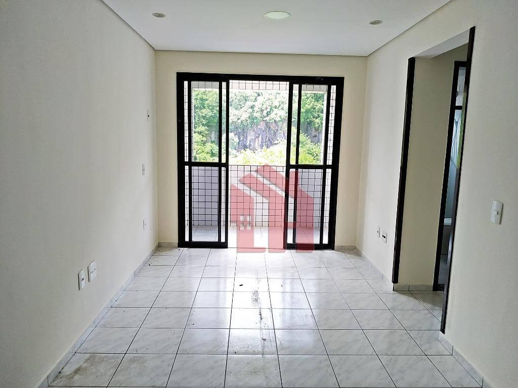 Apartamento com 1 dormitório à venda, 52 m² por R$ 245.000,00 - Itararé - São Vicente/SP