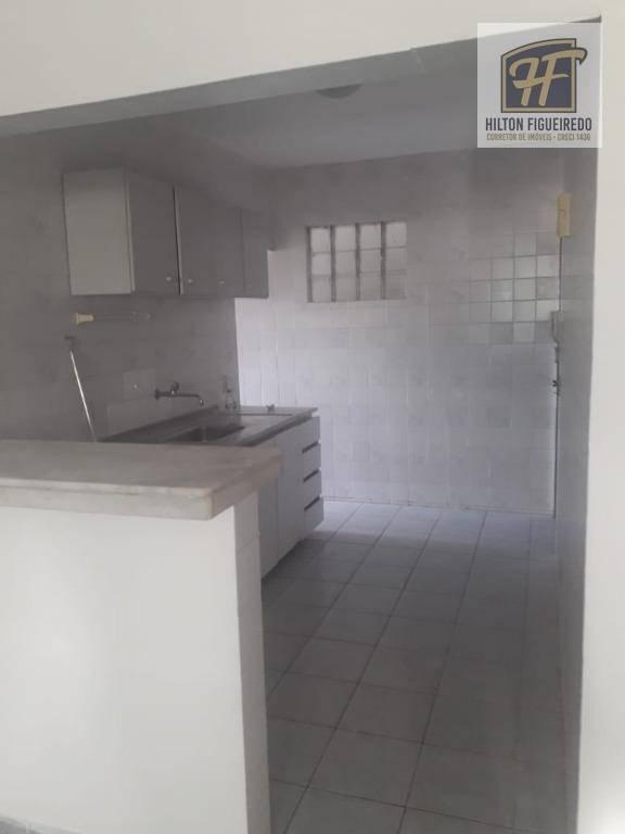 Alugo apto no bessa c 2 qtos, sendo 2 suites, prox ao mar, 2 vgas, 85 m² por R$ 850/mês - Bessa - João Pessoa/PB