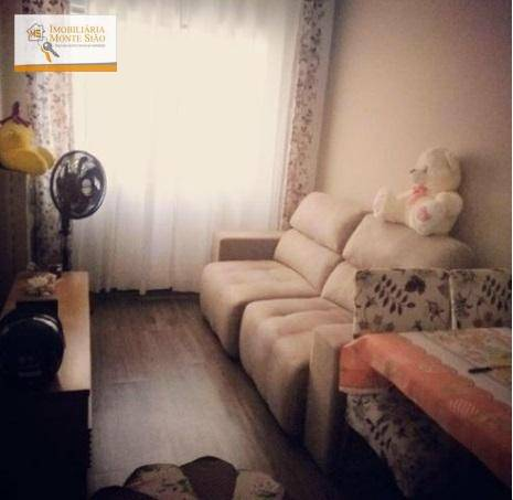 Apartamento com 2 dormitórios à venda, 58 m² por R$ 285.000 - Jardim Cocaia - Guarulhos/SP
