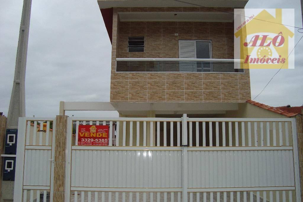 Casa à venda, 80 m² por R$ 220.000,00 - Vila Sônia - Praia Grande/SP