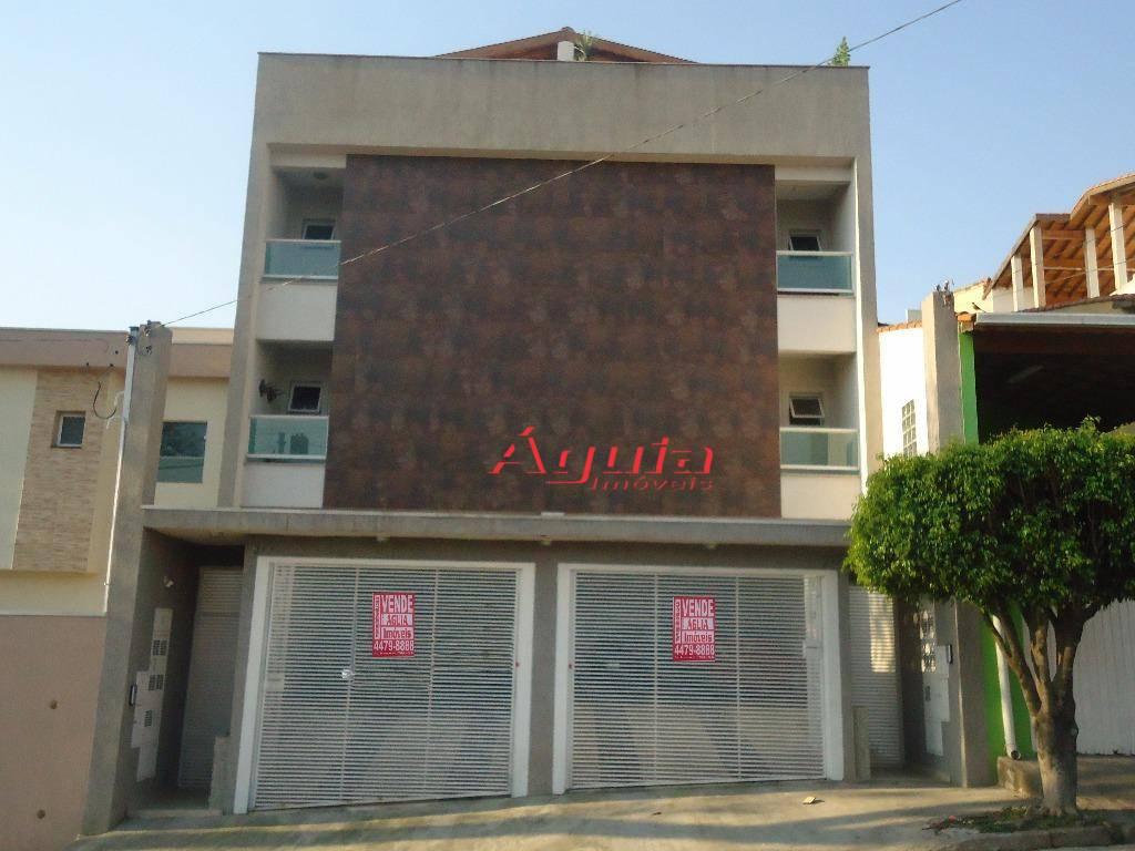 Cobertura com 2 dormitórios à venda, 49 m² por R$ 340.000 - Utinga - Santo André/SP