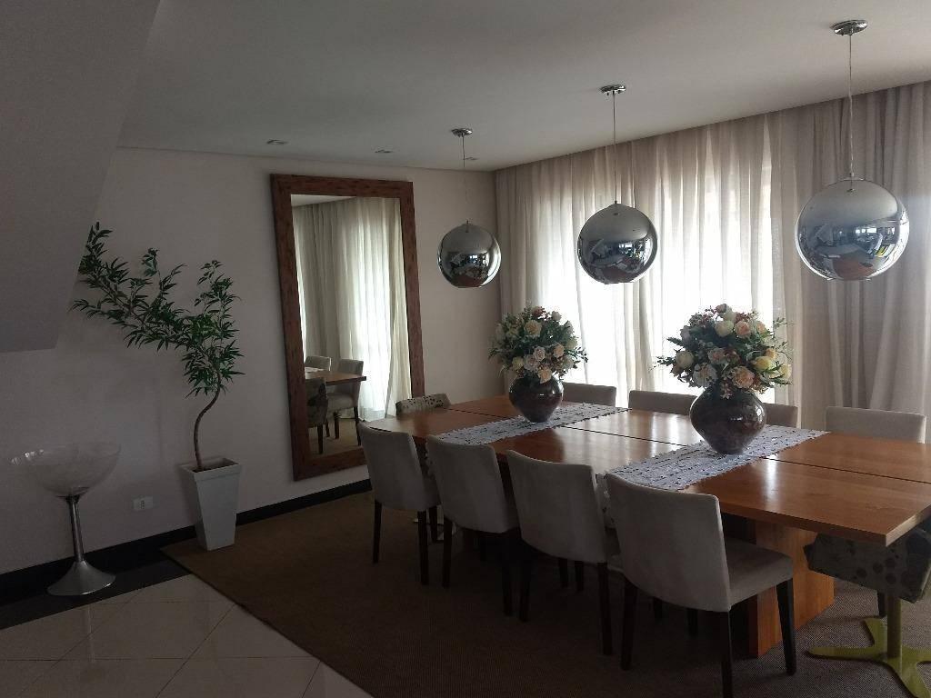 Cobertura residencial à venda. 284 m² no Centro, Santo André.