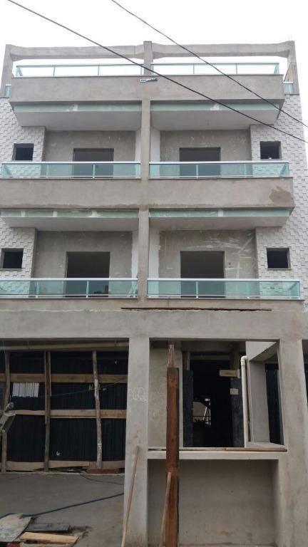Cobertura residencial à venda, Vila Pires, Santo André.