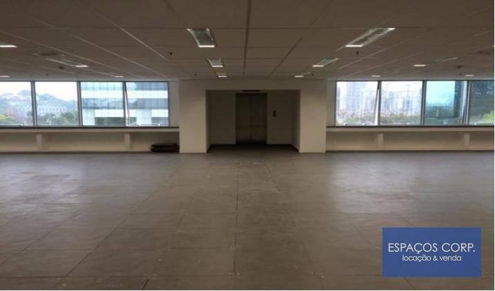 Laje à venda ou locação, 1026m² - Brooklin - São Paulo/SP