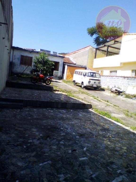 Terreno à venda, 310 m² por R$ 380.000,00 - Cidade São Jorge - Santo André/SP