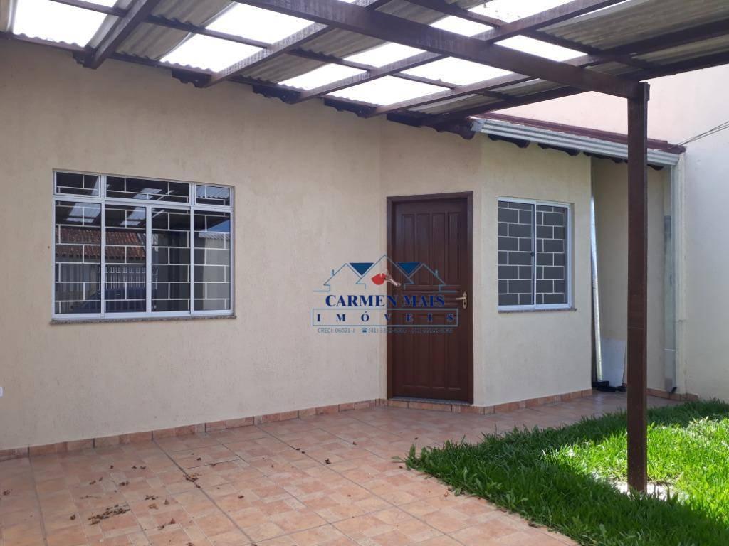 Casa com 2 dormitórios para alugar, 58 m² por R$ 900/mês - A