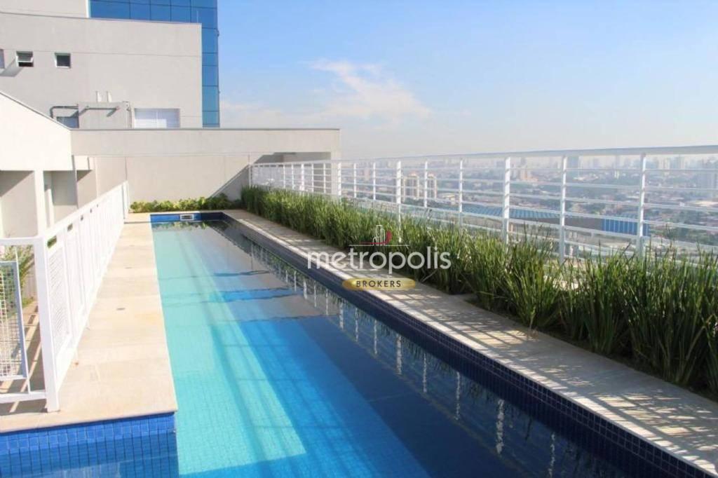 Loft com 1 dormitório para alugar, 50 m² por R$ 1.690,00/mês - Jardim do Mar - São Bernardo do Campo/SP
