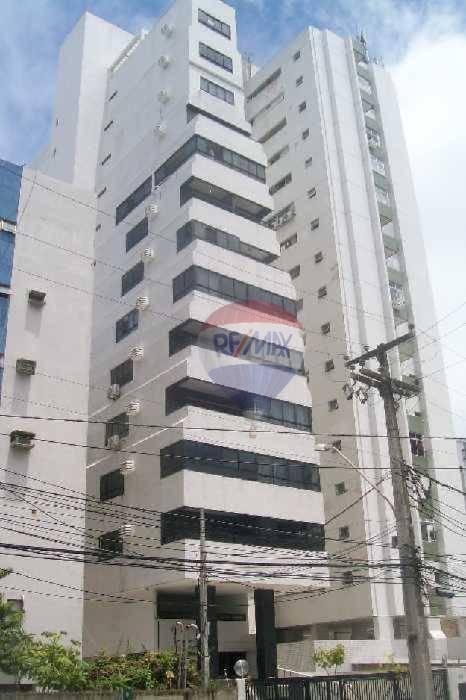 Flat 01 quarto bem localizado em Boa Viagem