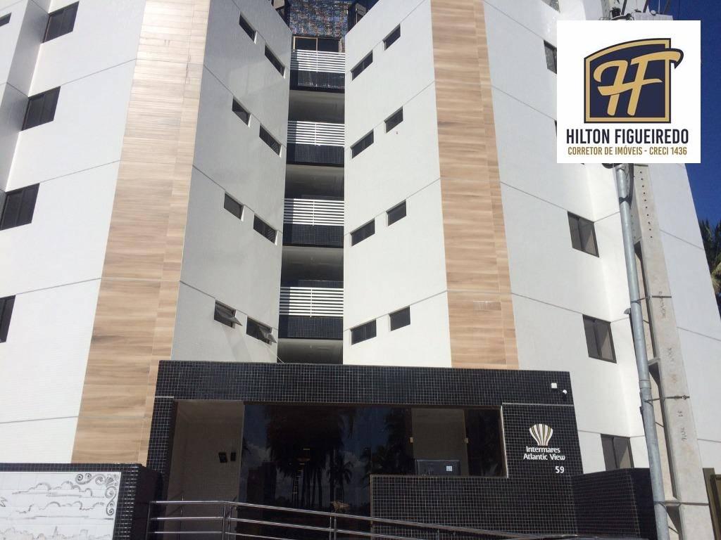 Apartamento à venda, 69 m² por R$ 460.000,00 - Intermares - Cabedelo/PB