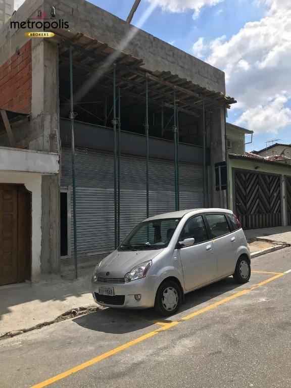 Galpão para alugar, 280 m² por R$ 9.000/mês - Centro - São Caetano do Sul/SP