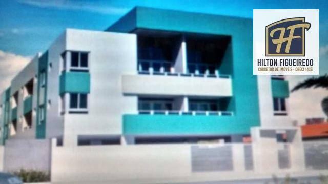 Apartamento com 2 dormitórios à venda, 57 m² por R$ 175.000 - Bancários - João Pessoa/PB