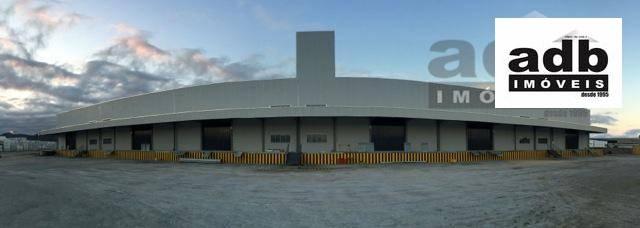 Galpão comercial para locação, São Vicente, Itajaí - GA0012.