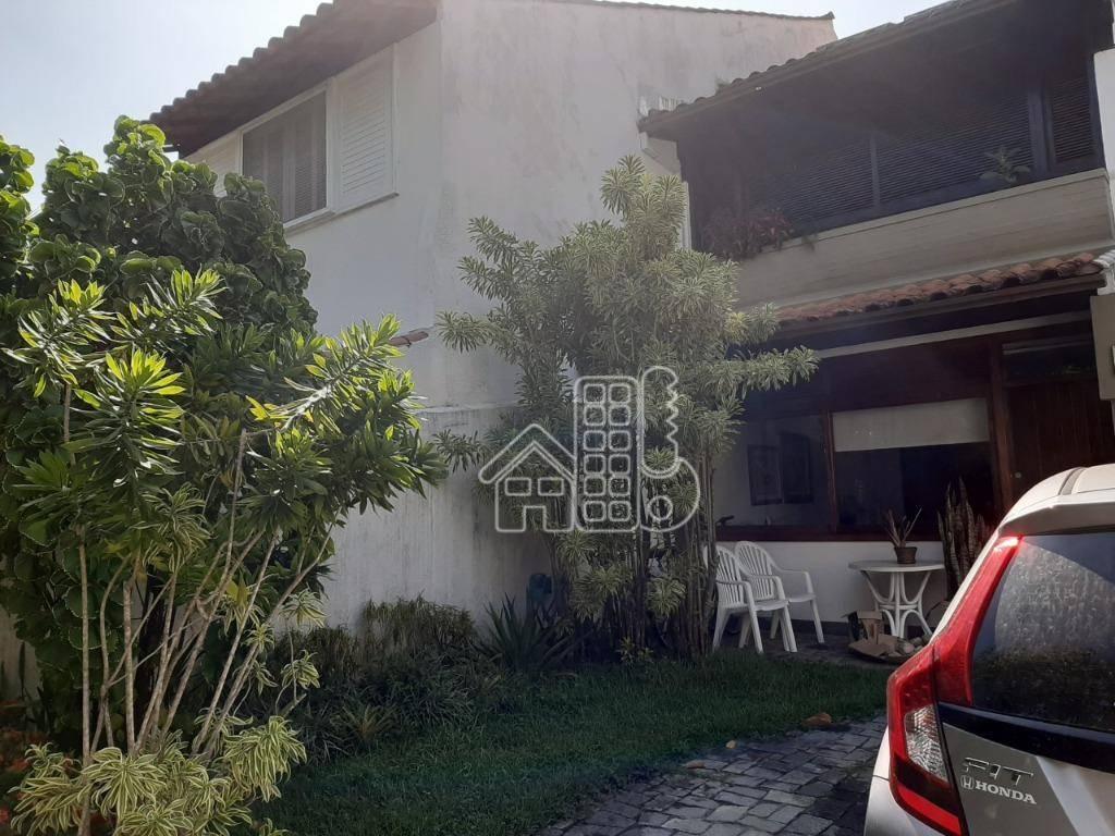 São Francisco Casa  em Condomínio                                   niocom 4 dormitórios à venda, 223 m² por R$ 1.550.000 - São Francisco - Niterói/RJ