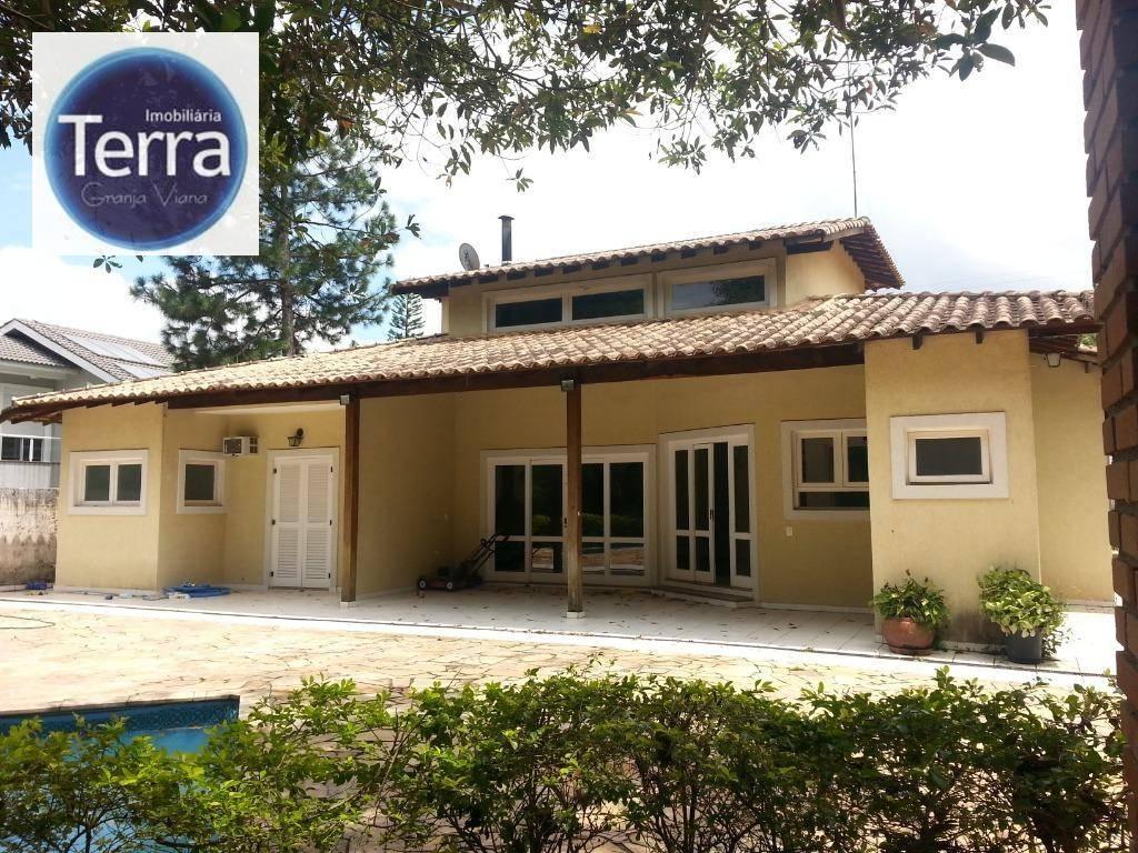 Casa com 4 dormitórios à venda e locação, 300 m² por R$ 1.300.000 - Recanto Inpla - Granja Viana