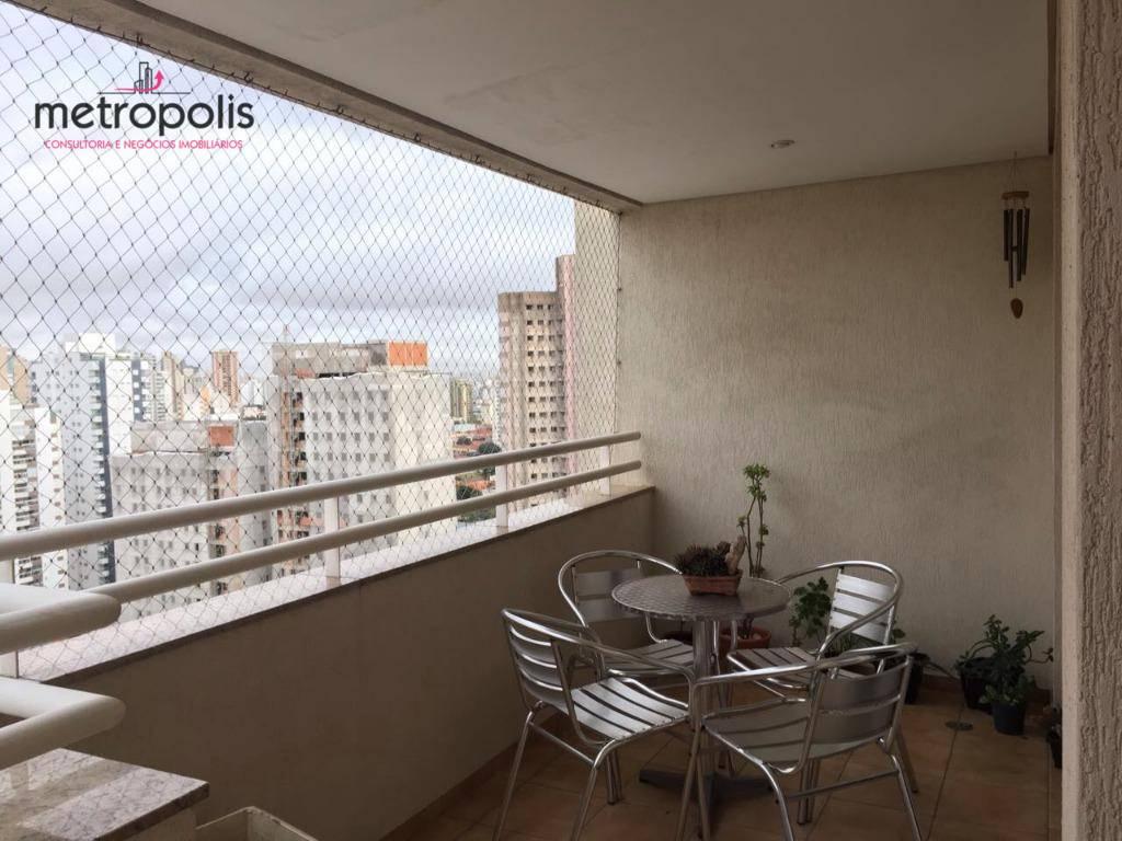 Apartamento com 3 dormitórios à venda, 150 m² por R$ 1.050.000 - Barcelona - São Caetano do Sul/SP