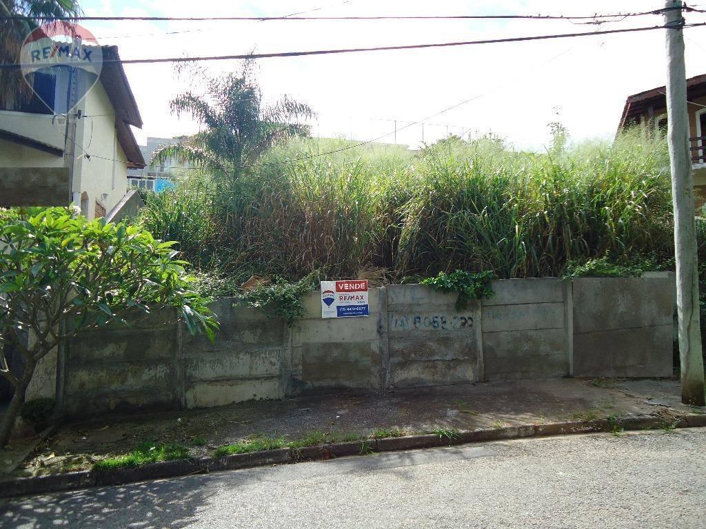 Terreno residencial à venda, Parque Arco Iris, Atibaia.
