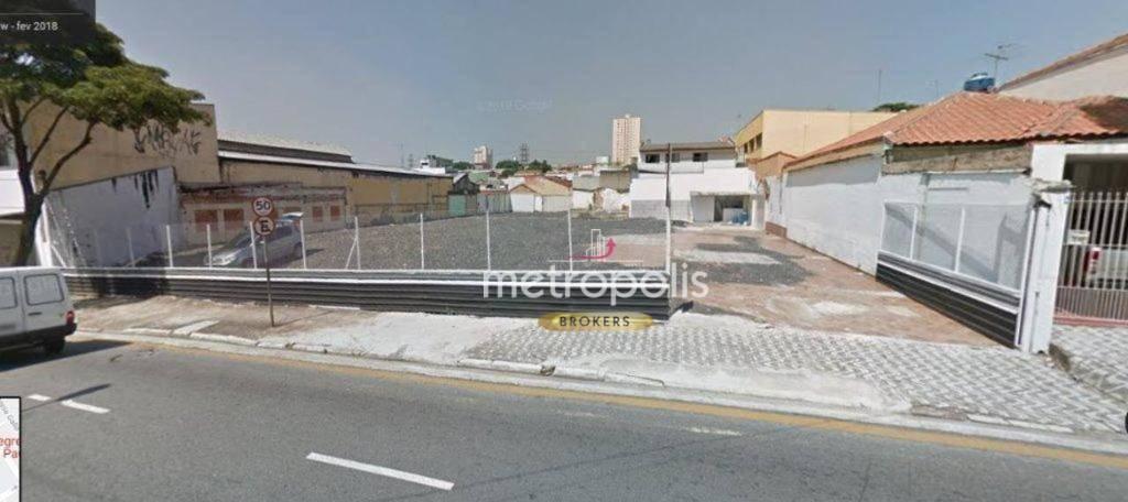 Terreno para alugar, 1310 m² por R$ 14.000,00/mês - Santa Paula - São Caetano do Sul/SP