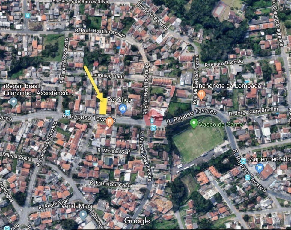 Terreno à Venda - Pilarzinho