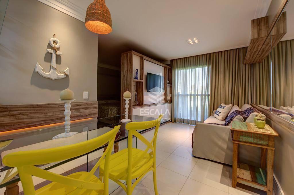 Apartamento para alugar, 39 m² por R$ 3.500,00/mês - Cumbuco - Caucaia/CE