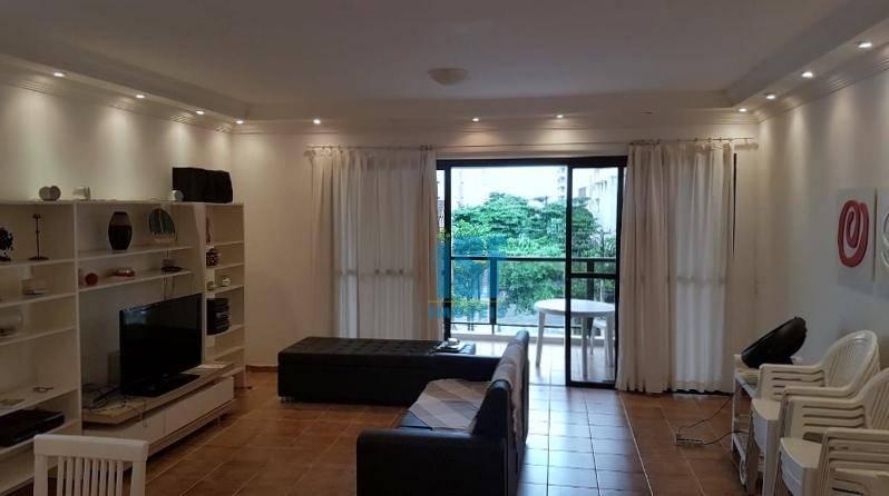 Apartamento com 4 dormitórios à venda, 240 m² por R$ 1.325.000 - Barra Funda - Guarujá/SP - AP20701.