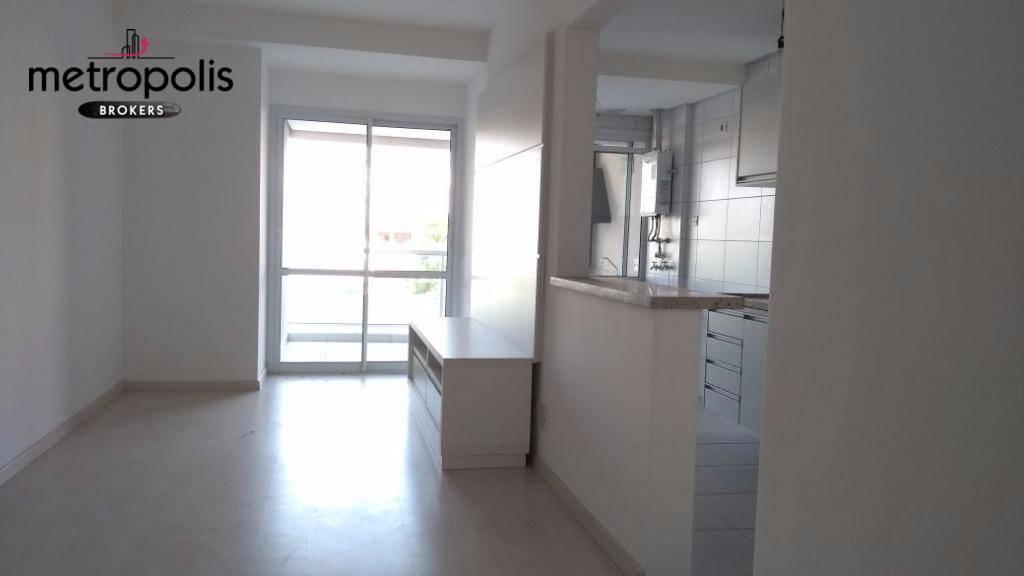 Apartamento com 2 dormitórios para alugar, 75 m² por R$ 2.300/mês - Barcelona - São Caetano do Sul/SP