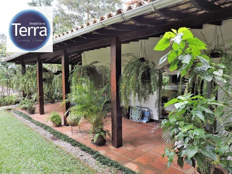 Casa residencial à venda, Chácara São João, Granja Viana.