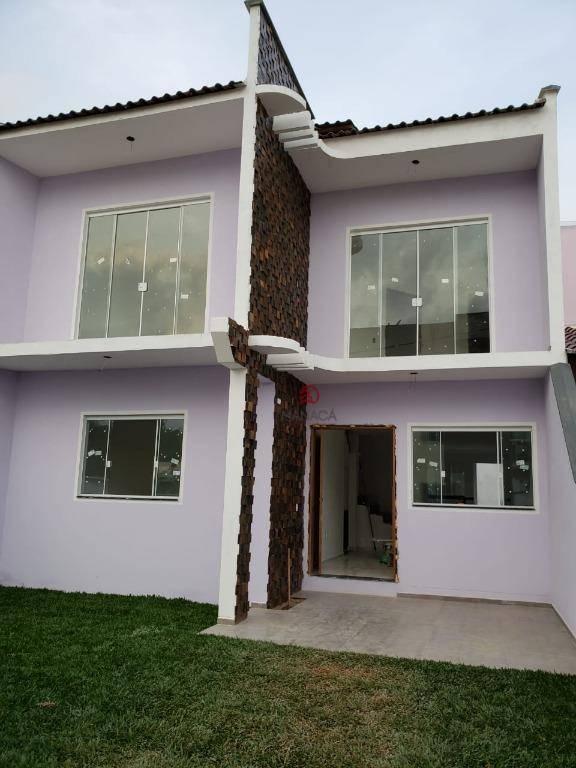 Sobrado com 4 dormitórios à venda, 150 m² por R$ 349.000,00 - Jardim Icaraí - Barra Velha/SC
