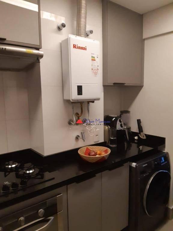 Apartamento com 2 dormitórios à venda, 67 m² por R$ 650.000 - Centro - Osasco/SP